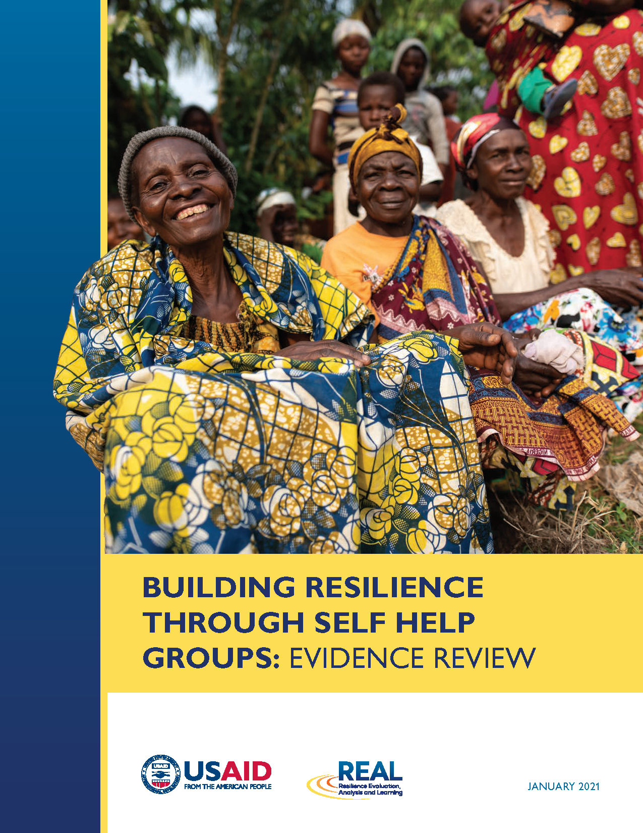 BUILDING RESILIENCE THROUGH SELF HELP GROUPS: EVIDENCE REVIEW