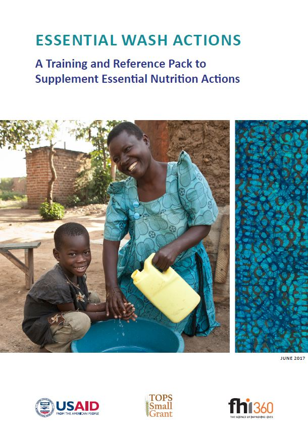 Download Resource: Essential WASH Actions: A Training and Reference Pack to Supplement Essential Nutrition Actions